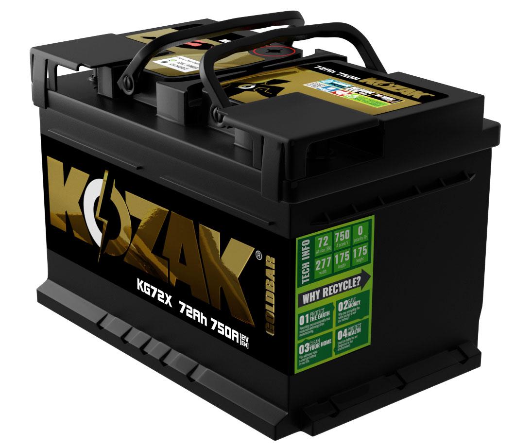 Akumulator Kozak KG72X 72AH