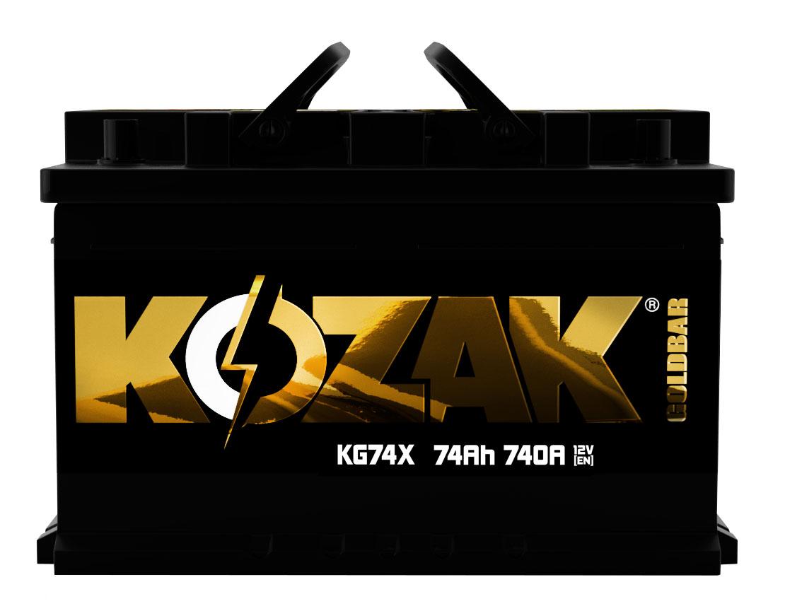 Akumulator Kozak KG74X 74AH