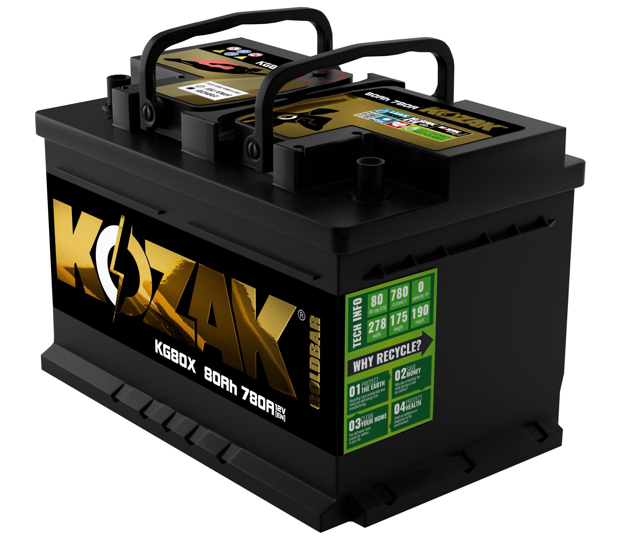 Akumulator Kozak KG80X 80AH