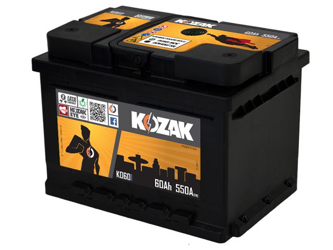 Akumulator Kozak KO 601