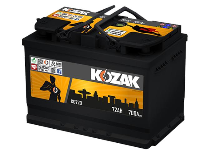 Akumulator Kozak KO 720