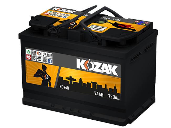 Akumulator Kozak KO 740