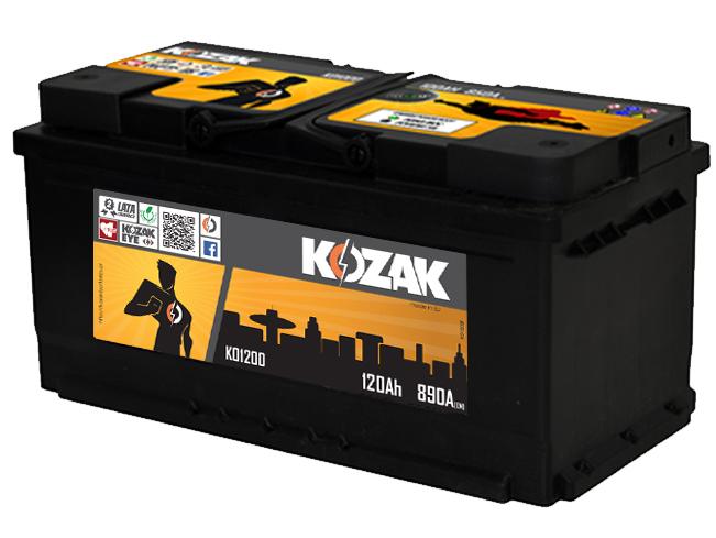 Akumulator Kozak KO 1200