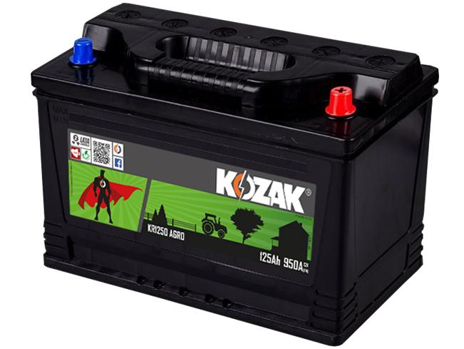 Akumulator Kozak KR 1250
