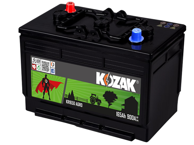 Akumulator Kozak KR 1650